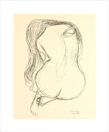 la poésie - Page 2 Klimt-gustav-seated-nude-woman-study-2402013